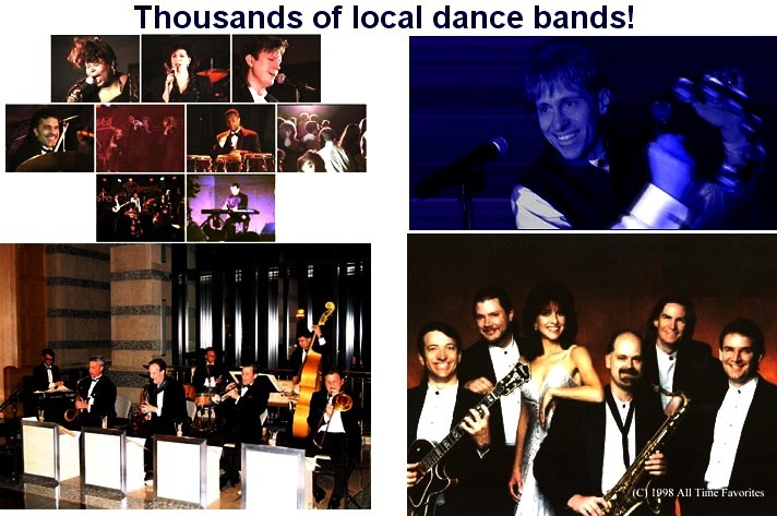 Wedding and Variety Bands Directory     Local wedding reception live bands LOGO