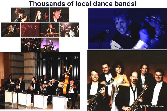 Wedding and Variety Bands Directory West Palm Beach Florida FL Local wedding reception live bands LOGO